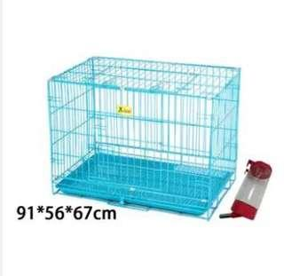 The dog cage Teddy with small and medium-sized dog dog toi