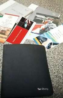 Nissan car manuals/folder
