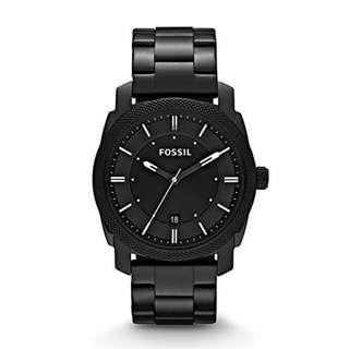 🚚 [Special Offer] Fossil FS4775 Machine Black Stainless Steel Men's Watch