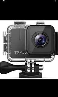 TRAWO 4K action camera