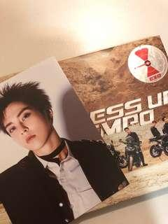 exo dmumt album with xiumin postcard