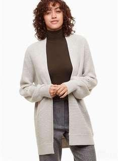 Aritzia Darcey Sweater in Heather Birch Size XS