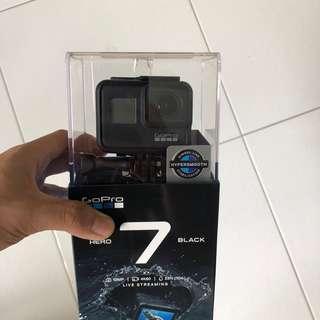 BNIB GoPro Hero 7 Black Sealed Local Warranty