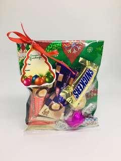 CHOCOLATES AS CHRISTMAS GIVEAWAYS