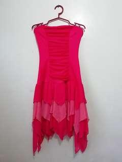 Pink coral Tube Dress
