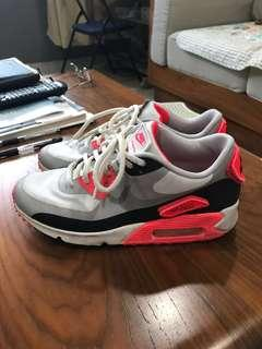 best service 8b5c0 0307e Nike Air Max 90 infrared patches