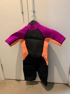 Girl's Wet Suit