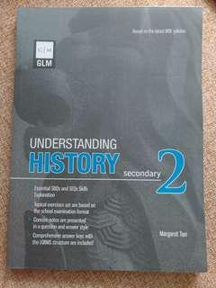 Understanding History for sec 2. History guide book