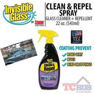 [INVISIBLE GLASS] Clean and Repel Spray 22 Oz.