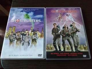 GhostBusters 1+2 - DVD Movie (有中文字幕)