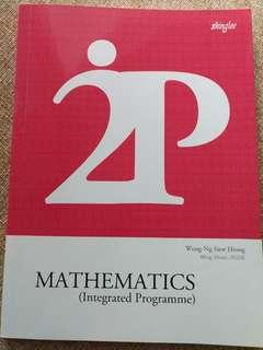 2P Maths for Integrated Programme IP
