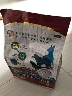 Selling cheap! Dog food Japanese Brand  WELL CARE 1.5kg Expiry : OCT 2019