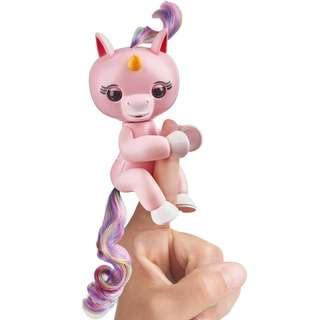 WowWee Fingerlings Interactive Baby Unicorn Gemma