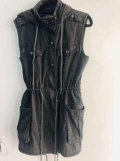 Hooded vest. Kylie Minogue range