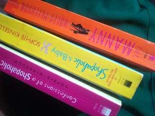 BOOK BUNDLE (Shopaholic + Shopaholic & Baby + The Manny)
