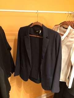 H&M Nagy blue blazer