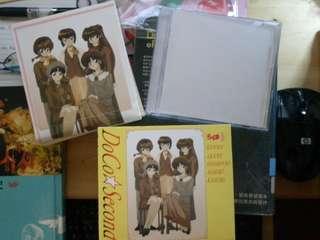 絕版 亂馬1/2 DoCo Second 收藏版 CD, 1盒2隻碟連貼紙