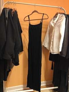 ASOS long fitted dress
