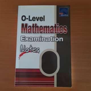 O Level Math Notes