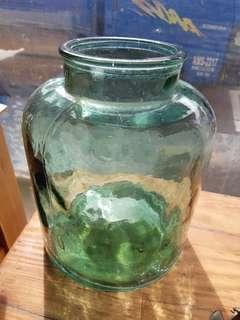 🚚 綠色玻璃罐