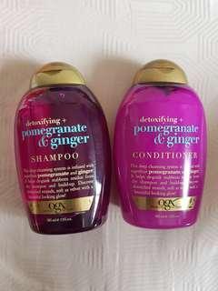Brand new organix ogx shampoo and conditioner