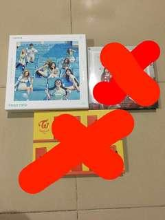WTS Twice Official Albums
