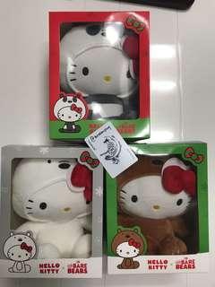 🚚 Hello Kitty x We Bare Bears Plushies