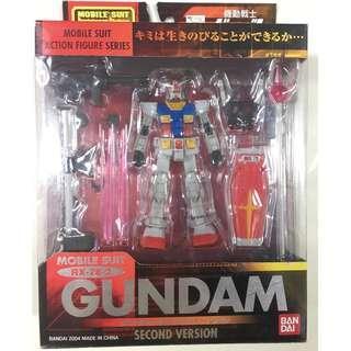 全新絕版 BANDAI MIA 高達 機動戰士 Gundam RX-78-2 (Second Ver) 1盒