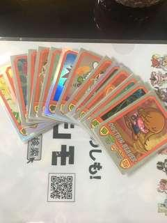 [CLEARING] WTS Moshi Monsters Mash Up Foil Cards
