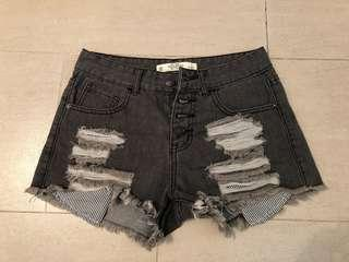 Ripped Shorts A&F W27