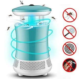P12 Jane Choi Bug Zapper, Electronic Mosquito Insect Killer LED Repellent Indoor Mosquitoes Fly Trap Pest Catcher for Home Kitchen Outdoor Garden Patio Yard (Blue)