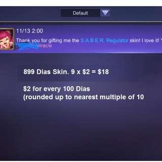 Mobile Legends Skins