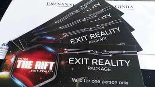 The Rift Park at Midvalley (4 tickets available)