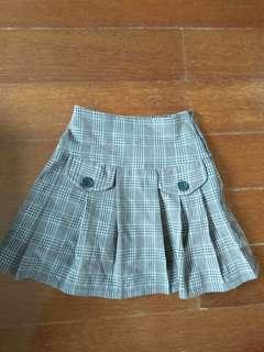 Tartan skirt for girls