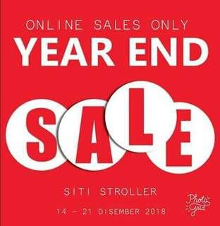 Year end sales by Siti stroller