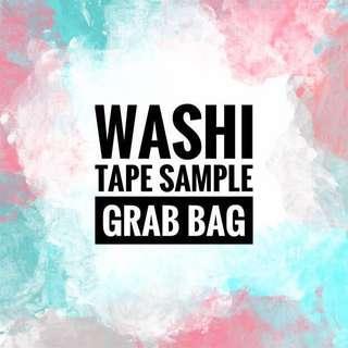 Washi tape sample grab bag