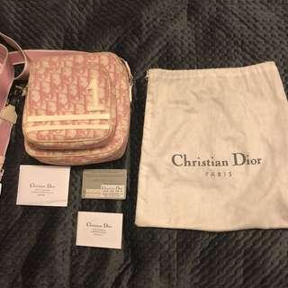 Dior monogram cross body bag