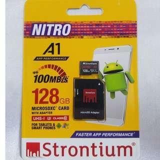 Strontium 128GB Micro SD Card