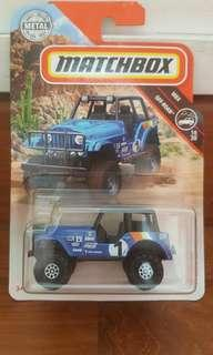 Matchbox '60 jeep 4×4
