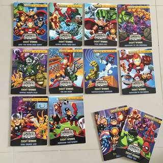 $5 for 10 books of marvel super hero squad