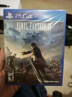 Final Fantasy XV - all region ps4