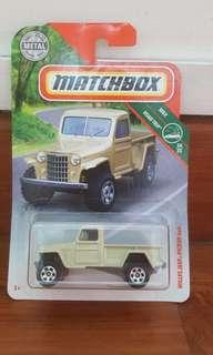 Matchbox Willys jeep pickup 4×4