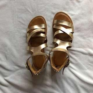 Syrup Gold Sandals