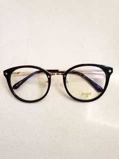 Brand New Jingcl Korean Style Optical Frame (No Prescription Lenses)