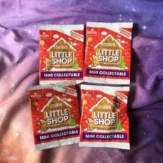 COLES Little Shop Mini Collection Xmas Edition