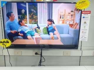 Miliki TV sharp 40Inc Kredit Syarat KTP Bisa Bawa TV Hari Ini