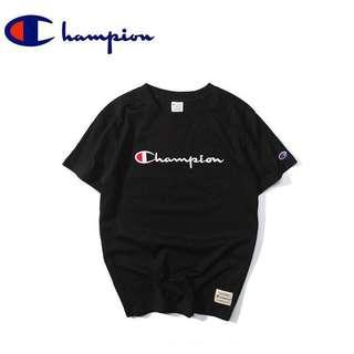 Champion Embroidered Logo T Shirt