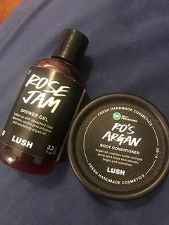 Lush products rose jam