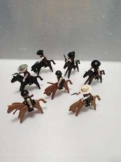 Vintage cowboy sharif horse lot