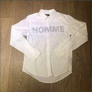 🉐40% Off! Izzue Homme white shirt